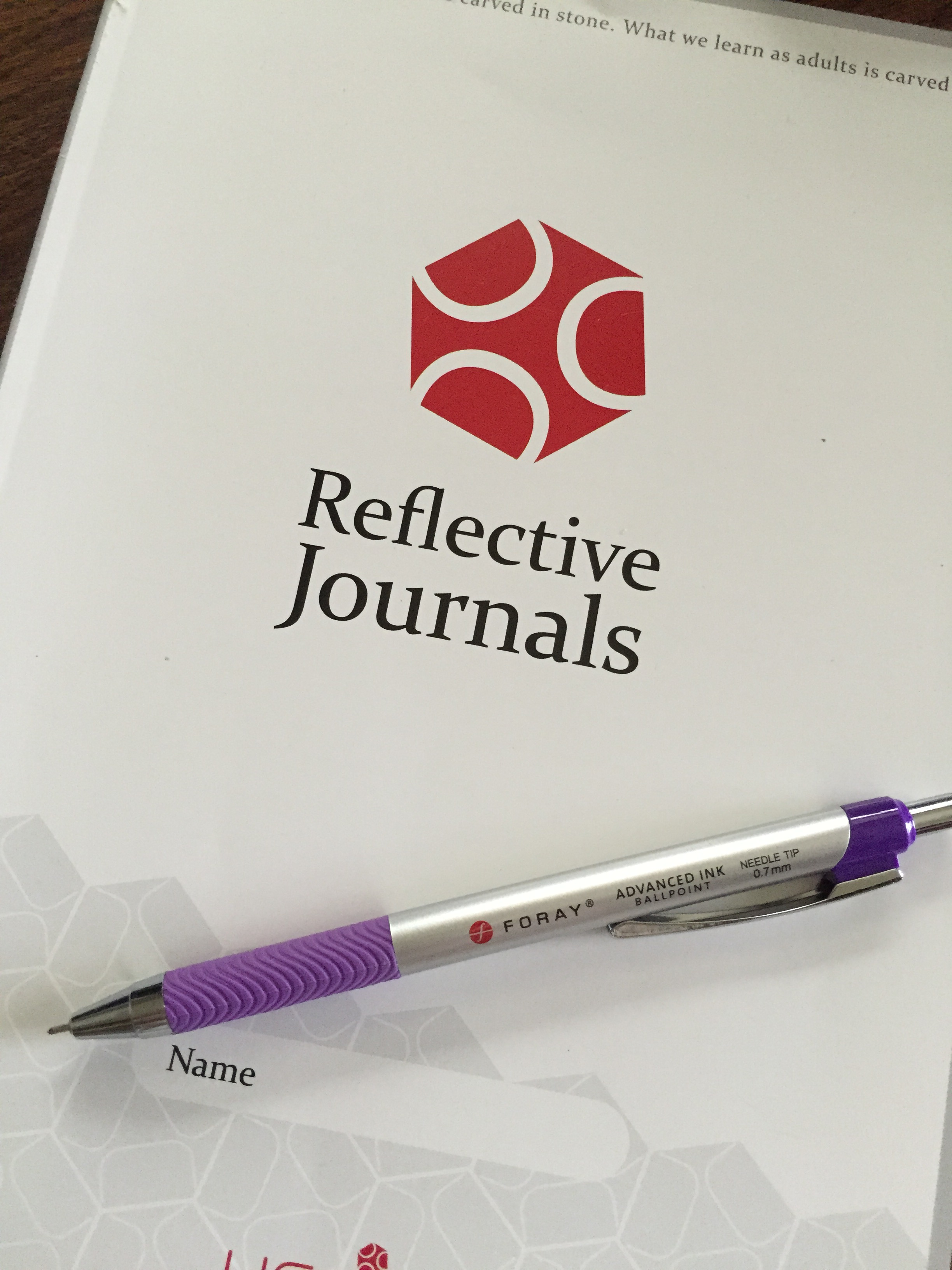 reflective journal 2 Objective: recently, during a program review, the dean of our department brought forth some concerns related to classroom instruction data had been compiled over the.